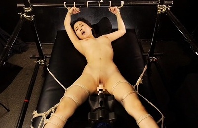 Miyuki ojima asian tramp in bondage gets cunt torture machines. Miyuki Ojima Asian tramp in bondage gets cunt torture machines