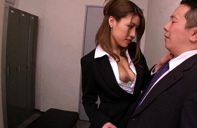 Haruka sanada asian office lady has firm boobs exposed before cock. Haruka Sanada Asian office lady has firm breasts exposed before dick